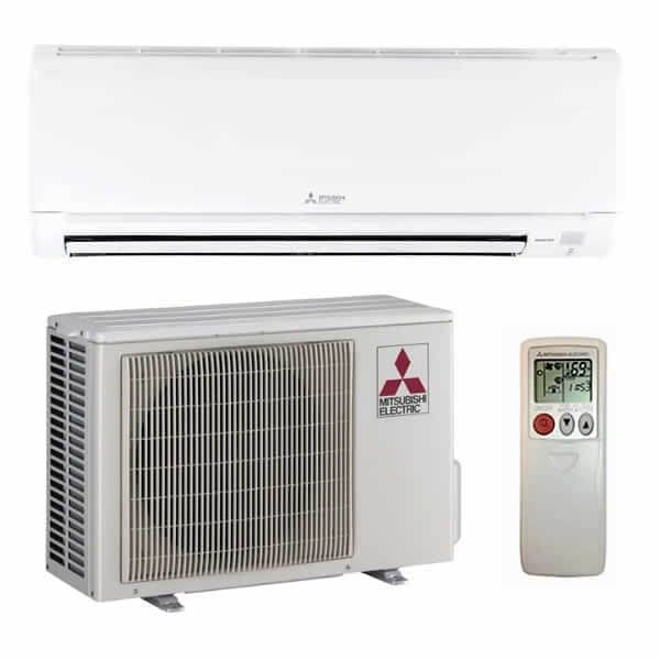 mitsubishi electric ductless heating system