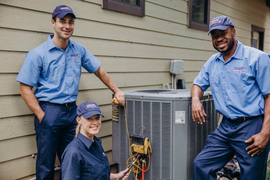 Team of HVAC Technicians