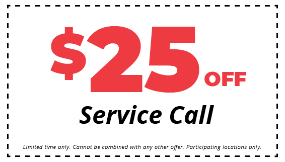 $25 off hvac service call coupon