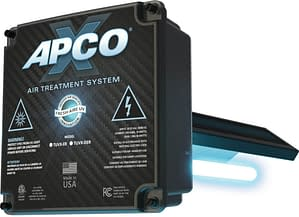 apco-x air treatment system